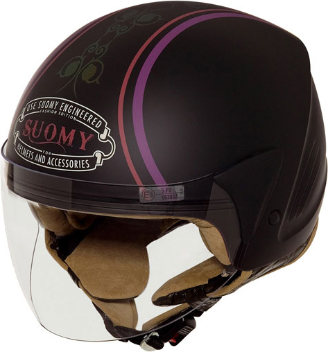 SUOMY Jet Light Cocco Morpho jet helmet black