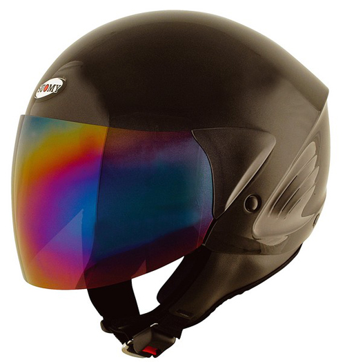 SUOMY Jet Light Plain jet helmet black