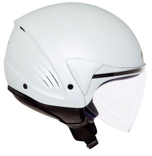 Casco moto Suomy Jet Light Plain bianco perla