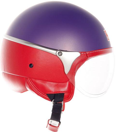 Suomy 1000 Miglia Chrono helmet violet matt