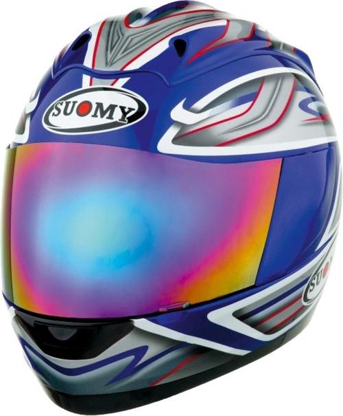 SUOMY Trek Graphic full-face helmet blue