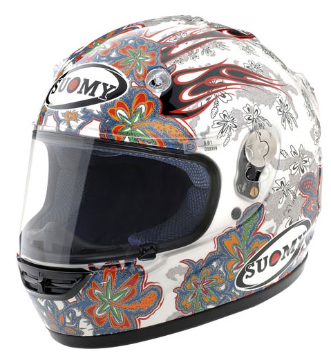 Casco moto integrale Suomy Vandal Flower