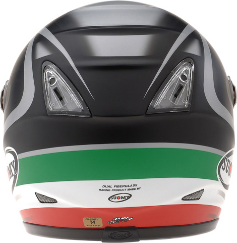 Casco moto integrale Suomy Vandal Italia Matt