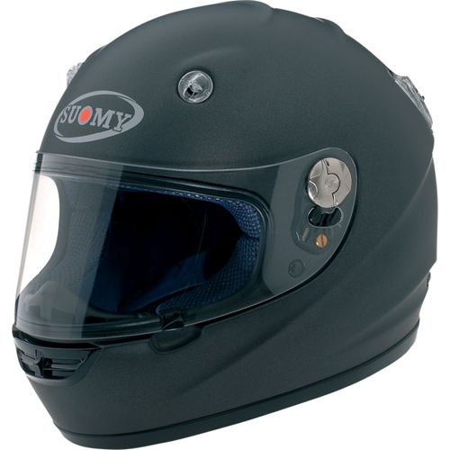 Casco moto integrale Suomy Vandal Plain antracite opaco