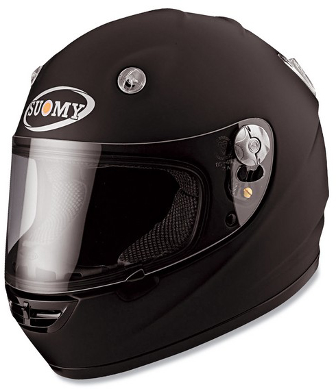 Casco moto integrale Suomy Vandal Plain matt black