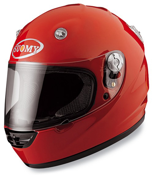 Casco moto integrale Suomy Vandal Plain Red
