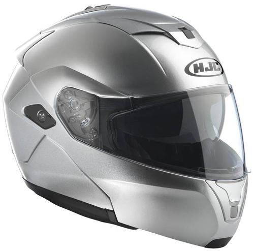 HJC SYMAX III flip off helmet Silver