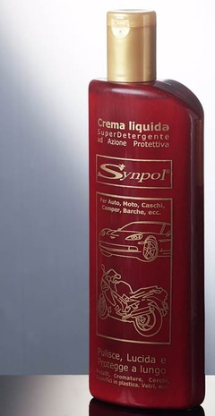 Synpol Cream Liquid 500 ml, cleans, polishes and protects