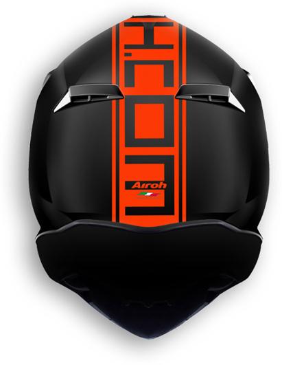 Airoh Terminator 2.1 Com offroad helmet orange matt