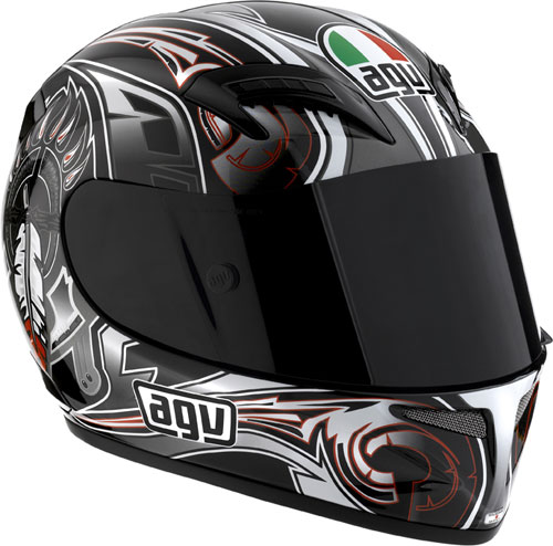 Casco moto Agv T-2 Multi Feather