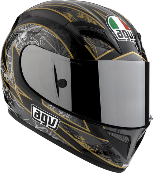 Casco moto Agv T-2 Multi Reach nero-gunmetal