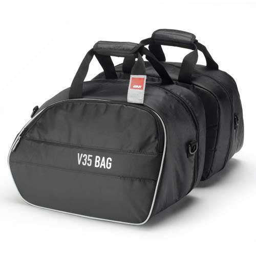 Givi side bags inside