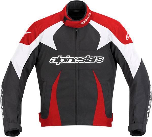 Alpinestars T-GP PLUS jacket black-red-white
