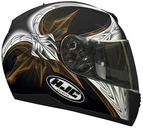 Casco moto integrale HJC FS11 Tapetop MC15