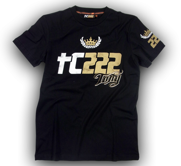TC222 T-shirt Tony black