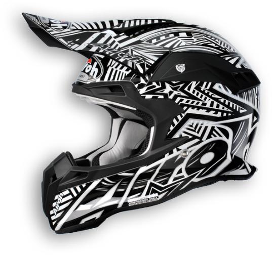 Airoh Terminator Stardust off-road helmet nero