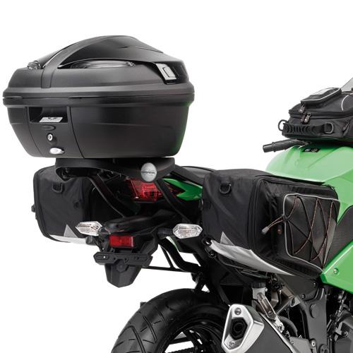 Tubular holder for soft bags TE4108K side for Kawasaki Ninja