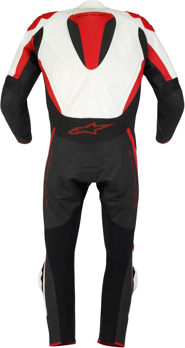 Alpinestars Tech 1-R leather suit balck-white-red