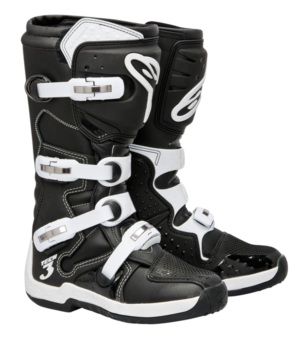 Stivali Off-road Alpinestars Tech 3 nero bianco