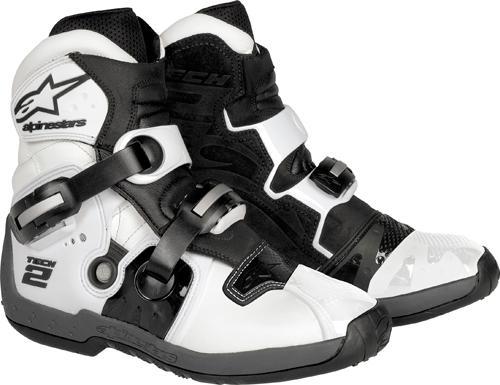 Alpinestars Tech 2 off-road boots white-black