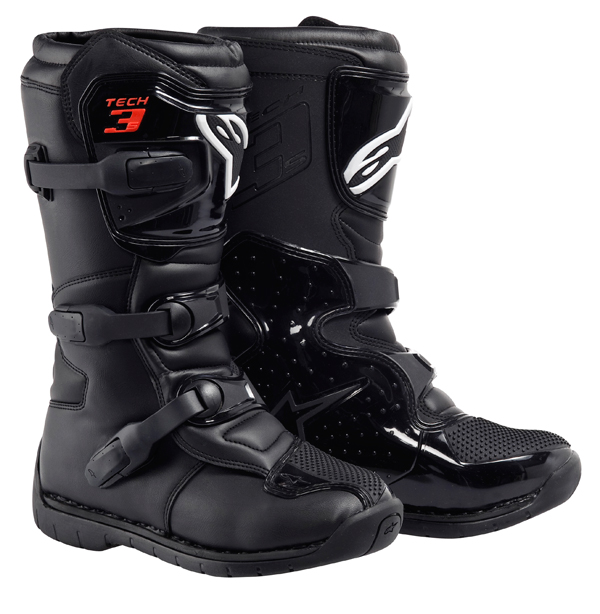Stivali motocross Alpinestars Tech 3S Youth neri
