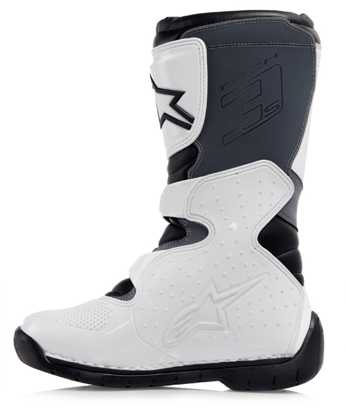 Alpinestars Tech 3S Youth motocross boots white-black