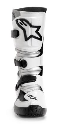 Stivali moto cross Alpinestars Tech 6S bianco-argento