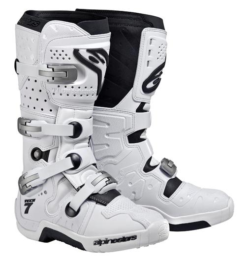 Alpinestars Tech 7 off-road boots white
