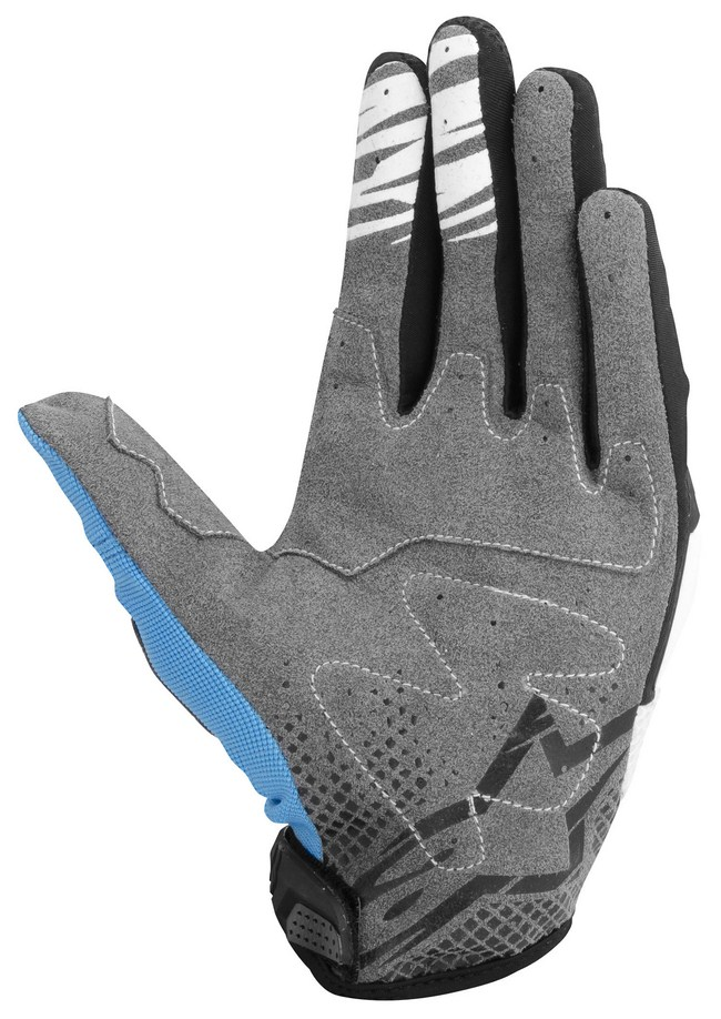 Alpinestars Techstar off-road gloves orange black