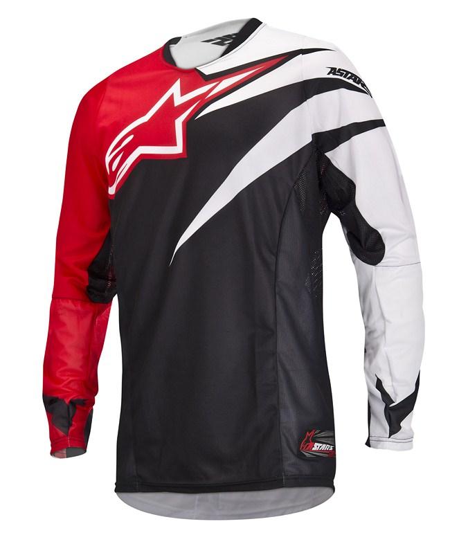 Alpinestars Techstar off-road jersey red black