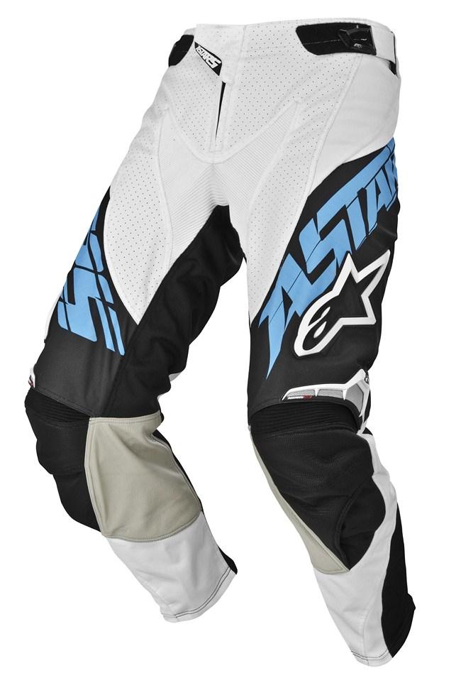 Pantaloni cross Alpinestars Techstar azzuro nero