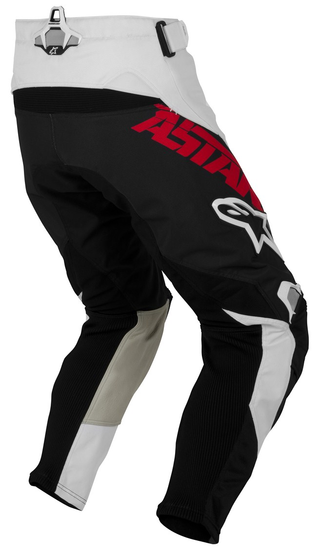 Pantaloni cross Alpinestars Techstar rosso nero
