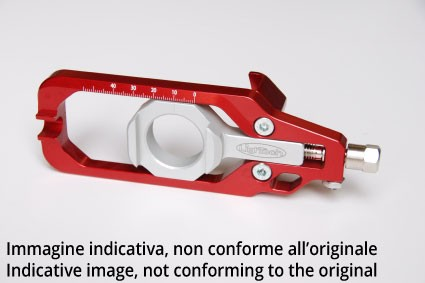 Tenditore di catena LighTech TEZX609 per Kawasaki Rosso