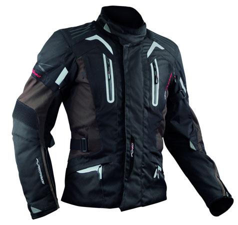 A-Pro Tesla motorycle jacket brown