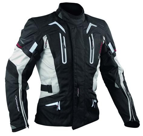 A-Pro Tesla motorycle jacket grey