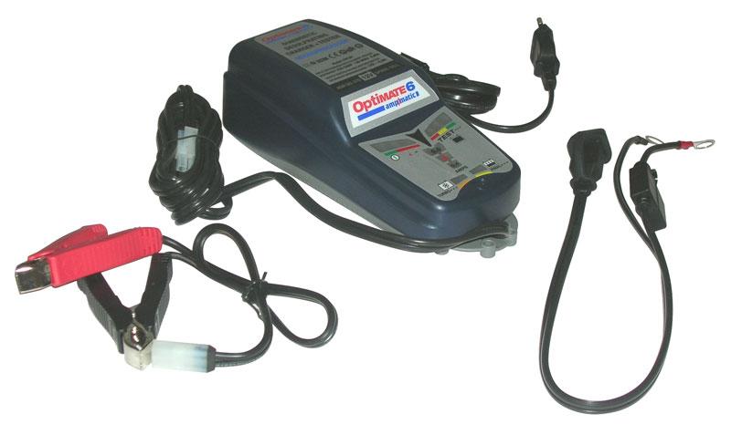 Carica Batteria Auto - Moto TecMate Optimate 6
