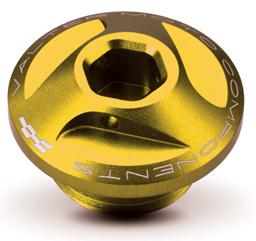 Oil Cap for Ducati Extreme Valtermoto, Gold
