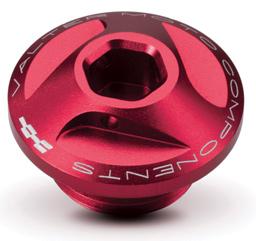 Oil Cap for Ducati Extreme Valtermoto, Red