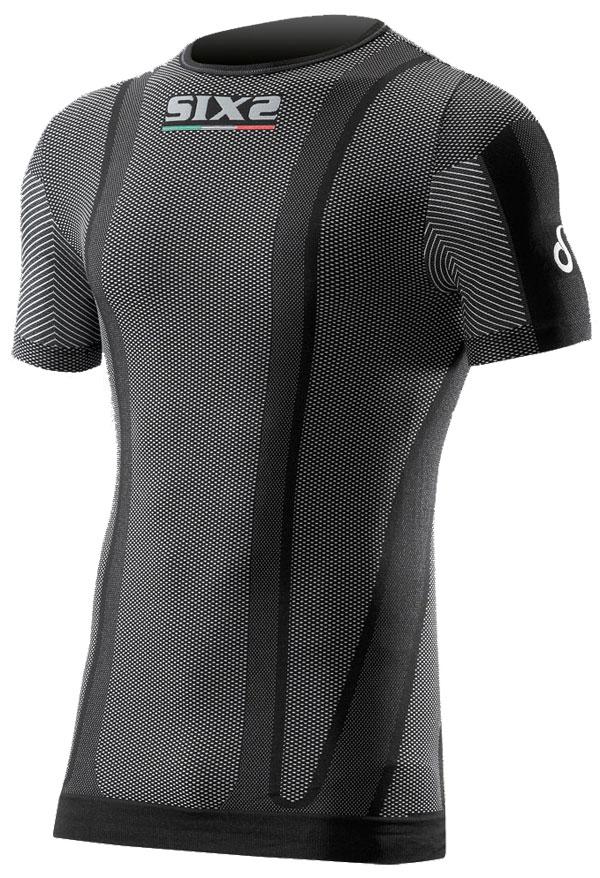 Base layer short sleeve Sixs Osmosixs Carbon