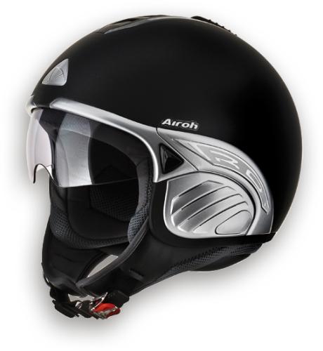 Casco moto Airoh Troy Color nero opaco