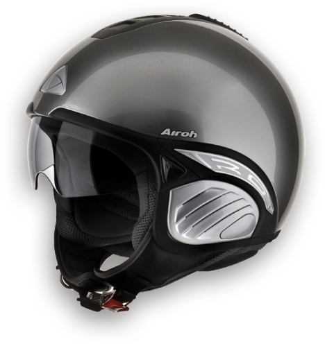 Airoh Troy Color het helmet chrome