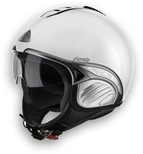 Casco moto Airoh Troy Color bianco