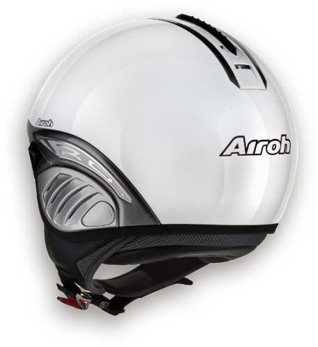 Casco moto Airoh Troy Color blu