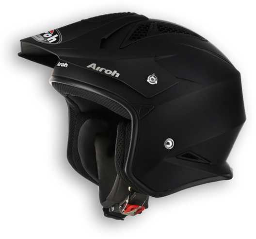 Casco moto off road Airoh TRR Color nero opaco