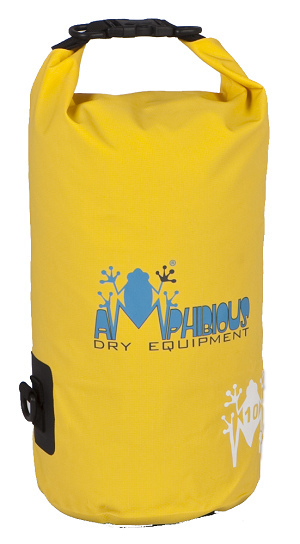Waterproof bag saddle Amphibious Tube 5 Yellow