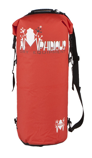 Waterproof bag saddle Amphibious Tube 40 Black