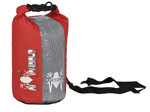 Waterproof bag saddle Amphibious 5 Yellow Window