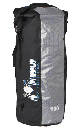 Waterproof bag saddle Amphibious Red Window 10