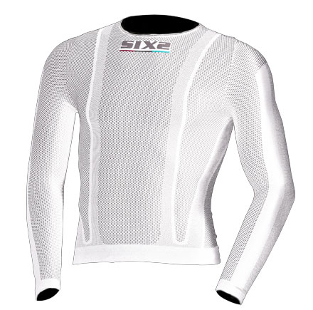 Sixs long sleeved t-shirt White