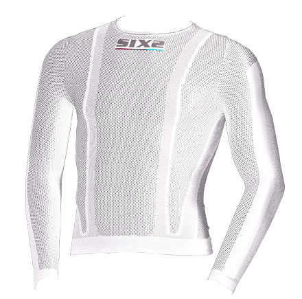 White long-sleeved base layer Sixs